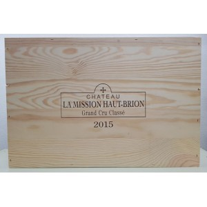 Château La Mission Haut Brion 2015 (Wooden case of 12x75 cl)