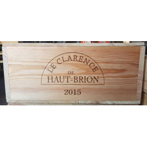 La Clarence de Haut Brion 2015 (Wooden case of 12x75 cl)