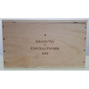 Château Palmer 2015 (wooden case of 6 x 75 cl)