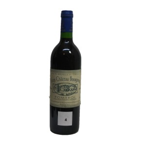 Vieux château Bourgneuf 1989