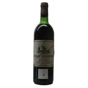 Chateau Beychevelle 1981 (Bottle 75 cl)