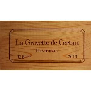 La Gravette de Certan 2013
