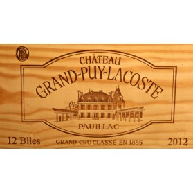 Château Grand-Puy-Lacoste 2012 (Case of 12 Bottles 75 cl)