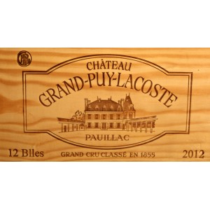 Château Grand-Puy-Lacoste 2012 (Case of 12 Bottles 75 cl)