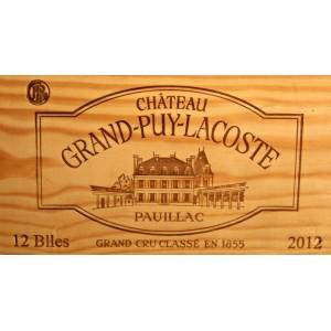 Château Grand-Puy-Lacoste 2012