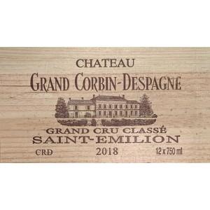 Château Grand Corbin Despagne 2018