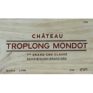 Château Troplong Mondot 2018