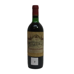 Chateau Bourgneuf Lartoma 1982 (Bottle 75 cl)