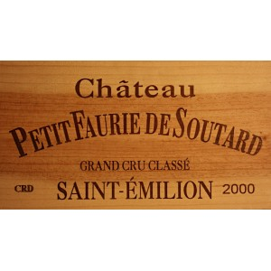 Chateau Petit Faurie de Soutard 2000  (owc 12 Bottles of 75 cl)