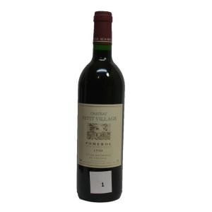 Château Petit Village 1990 (Bottle 75 cl)