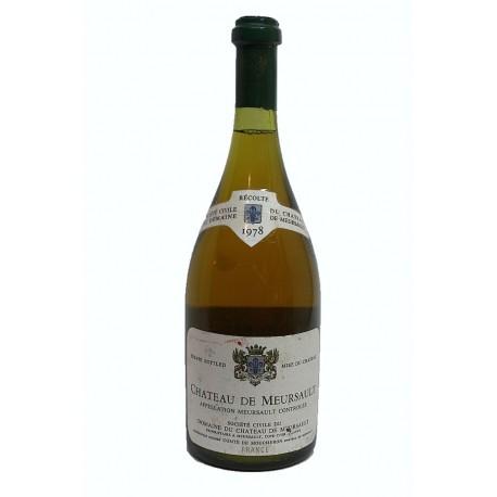 Château de Meursault 1978 ( bottle 75 cl)