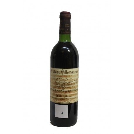 Château Villemaurine 1981 (bottle of 75cl)