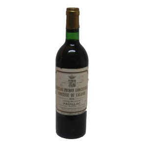 Chateau Pichon Contesse de Lalande 1978 (Bottle 75 cl)