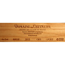 Domaine de Chevalier 2012 (owc set of 6 Bottles 75 cl)
