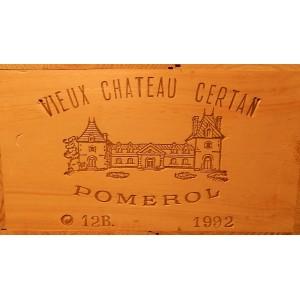 Vieux Château Certan 1992 (Owc Set of 12 Bottles 75 cl)