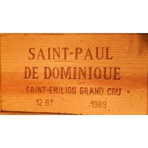 Château Saint-Paul La Dominique 1989 (Owc Set of 12 Bottles 75 cl)