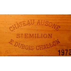 Château Ausone 1978 (Owc Set of 12 bottles 75 cl)