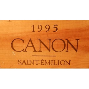 Château Canon 1995 (Case of 12 bottles 75 cl)