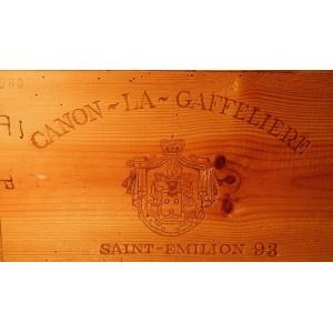 Château Canon La Gaffelière 1993 (Case of 12 bottles 75 cl)