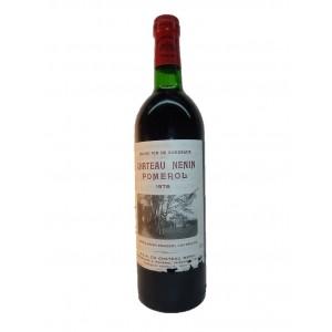 Château Nénin 1978 (Bottle 75 cl)