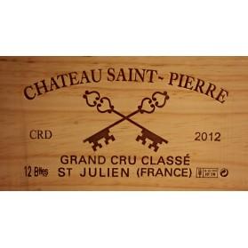 Château Saint Pierre 2012 (Case of 12 Bottles 75 cl)