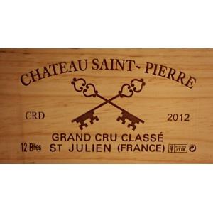 Château Saint Pierre 2012 (Case of 12 Bottles 75 cl)