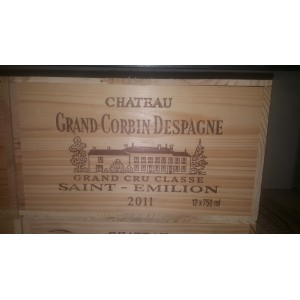 Château Grand Corbin Despagne 2011 (owc 12 bottles of 75 cl)