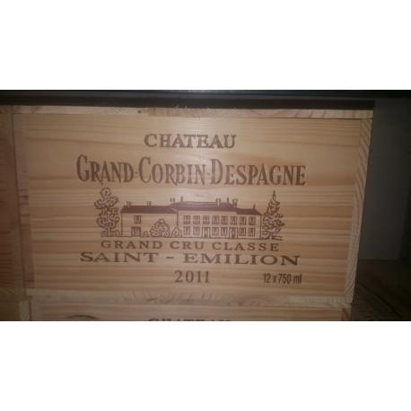 Château Grand Corbin Despagne 2011 (owc 12 bottles of 75 cl)