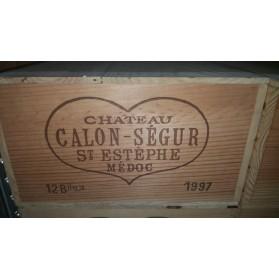 Château Calon Segur 1997 (Case of 12 Bottles 75 cl)