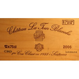 Chateau La Tour Blanche 2006 (Set of 12 X 75 cl)