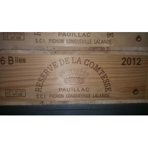 La Réserve de la Comtesse 2012 (Case of 6 Bottles 75 cl)