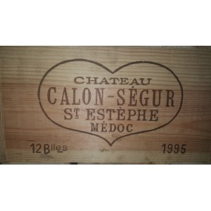 Château Calon Segur 1995 (Case of 12 Bottles 75 cl)