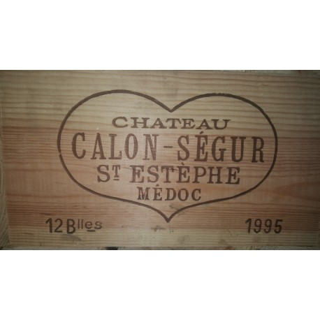 Château Calon Segur 1995 (Case of 12 Bottles 75 cl)