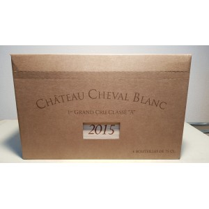 Château Cheval Blanc 2015 (case of 6 bottles 75 cl)