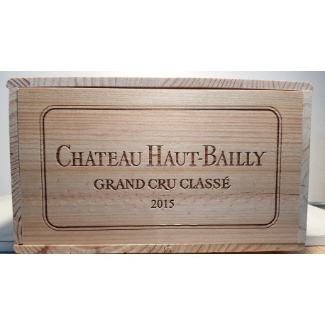 Chateau Haut Bailly 2015 (bottle 1  X 75 cl)