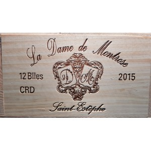 Dame de Montrose 2012 (Case of 6 Bottles 75 cl)