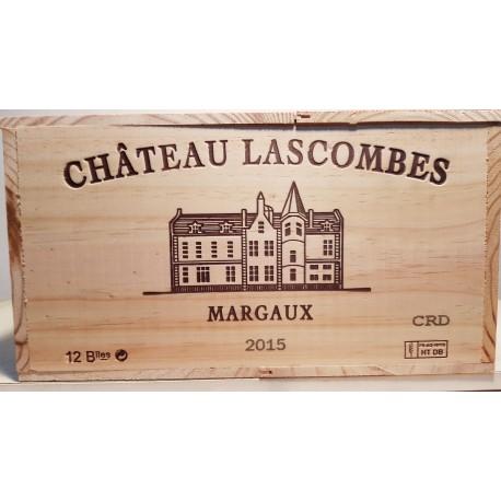 Château Lascombes 2015 (wooden case 12 x 75cl)