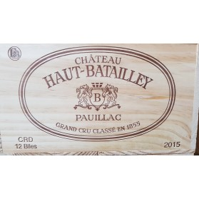 Château Haut Batailley 2015 (Case of 12 Bottles 75 cl)