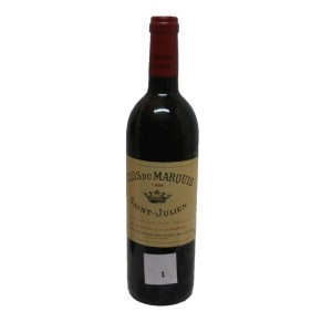 Clos du Marquis de Leoville 1998 (bottle of 75 cl)