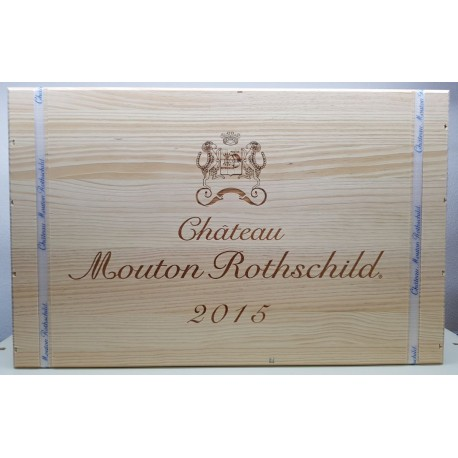 Château Mouton Rothschild 2015 (wooden case 6 x 75 cl)